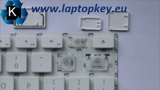Instalation Guide how to install fix repair key in keyboard APPLE G4 Unibody New generationA1278