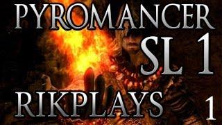 Dark Souls Пиромансер SL1 [Эп.1] Мне страшно играть!