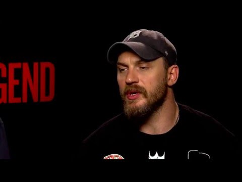 LEGEND: Backstage with Tom Hardy & Brian Helgeland