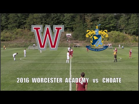 2016 Worcester Academy Soccer vs  Choate