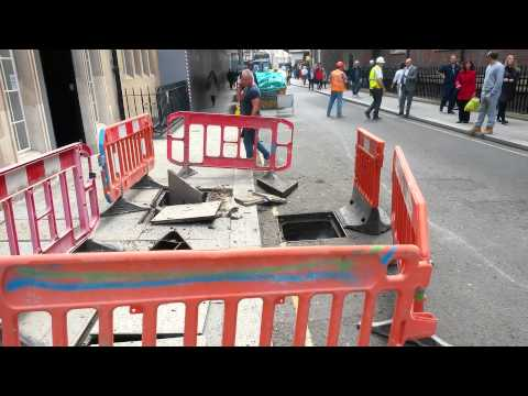 Explosion in Chancery Lane