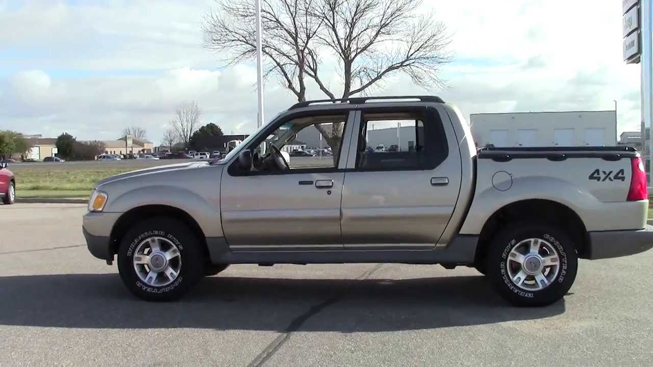 2003 ford explorer sport trac 4wd xlt youtube
