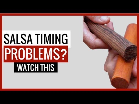 Salsa Timing Video - how to keep the salsa beat