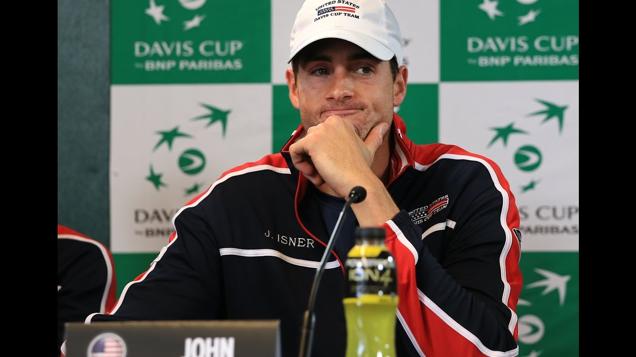 John Isner takes the Jim Courier quiz