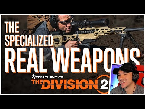REAL LIFE DIVISION 2 SPECIALIZATION WEAPONS IN ACTION! THIS IS INSANE!  
