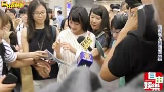 小海女能年玲奈首度來台記者王文麟攝.