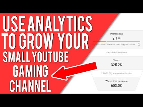 NEW YOUTUBE ANALYTICS EXPLAINED FOR YOUTUBE GAMERS - IMPRESSIONS, CLICK THROUGH RATES & MORE TIPS
