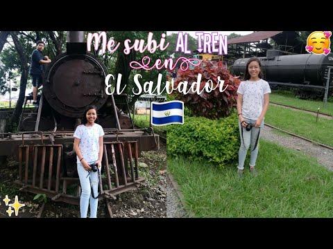 Me SUBI Al TREN En El Salvador 🚂🇸🇻