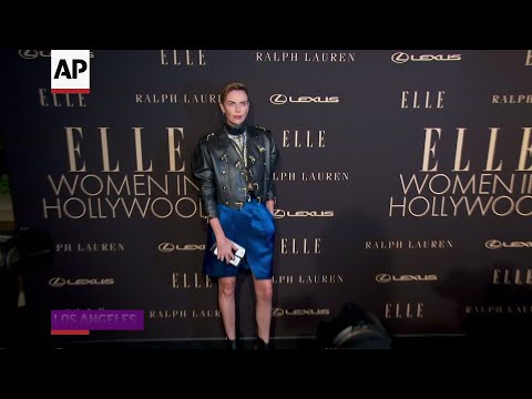 Stars glam up in black for Elle Women in Hollywood