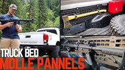MOLLE Pannels for Your Tacoma Bed! Must have for Preppers and Overlanders.