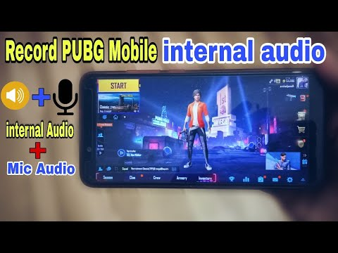 How To Record PUBG Mobile Internal Audio On Android | Record Internal + Voice Audio In PUBG Mobile