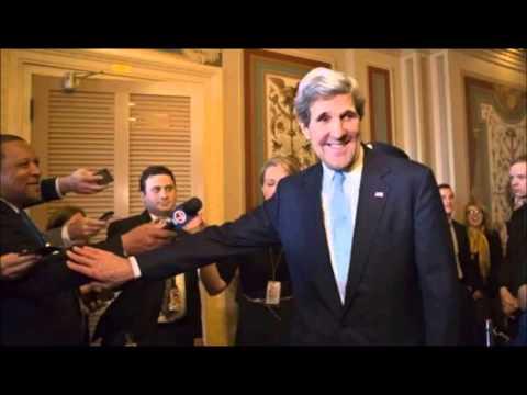 Conférence de presse John Kerry en Algérie - Manipulation ENTV
