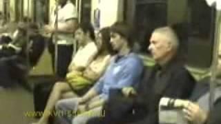 Скрытая камера в метро
