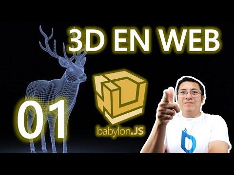 01.- Curso babylon.js y webgl (Rápido):Crear una escena básica