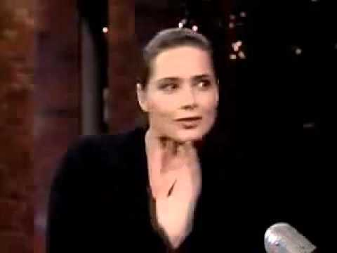 David Letterman interviews Isabella Rossellini