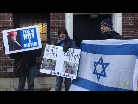 "JDL Protest outside ""Pali"" Observer Mission NYC"