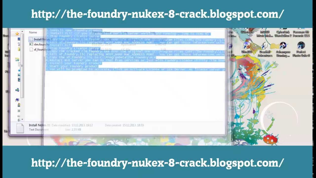 The foundry nukex 7.0v8 win mac linux xforce