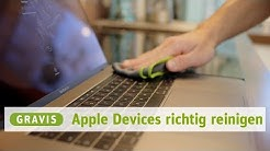 MacBook, iPad & iPhone richtig reinigen - GRAVITIES Technik