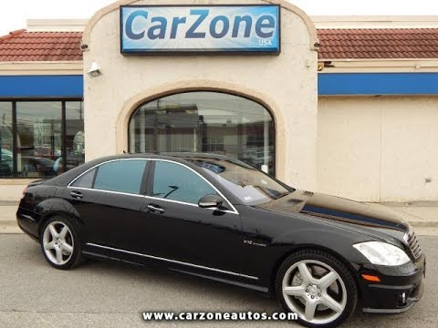 Used Cars Baltimore >> 2007 Mercedes-Benz S65 AMG Used Cars Baltimore MD | CarZone USA - YouTube