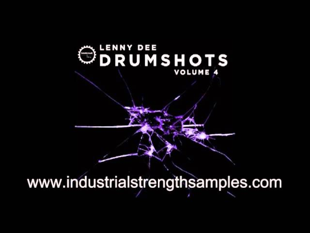 Lenny Dee Drumshot Vol. 4 - Sample Pack - OUT NOW! #1
