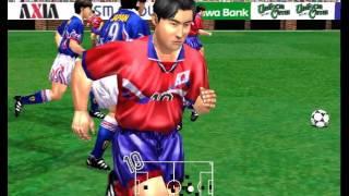 Japan vs Korea - Epic Match - Virtua Striker 2 '97 - 60FPS HD