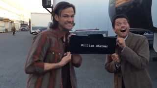 Per misha collins' twitter: @williamshatner, @jarpad & i are giving this to your auction. (you'll probably end up bidding on th' - video posted by coll...