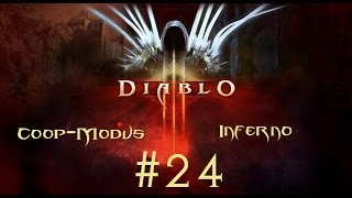 Let's Play Diablo 3 Coop Inferno Meister #24 Der Weg zum Areat