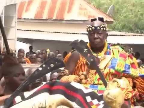 Otumfuo Osei Tutu II Performs Final Rites