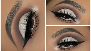 A Rounded Crystal Cut Crease