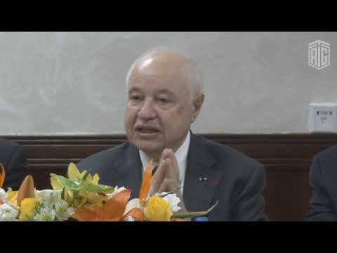 HE Dr. Talal Abu-Ghazaleh visits the premises of Telecommunication Regulatory Commission