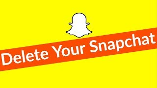 How To Delete/Deactivate Snapchat Account Permanently On Android & Remove Your All History-2019