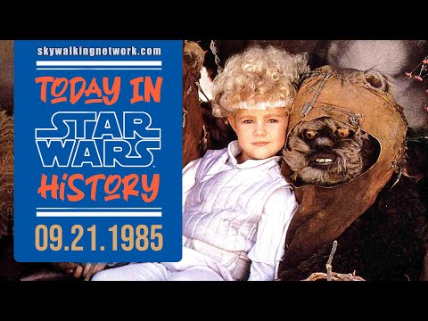 TODAY IN STAR WARS HISTORY: 9/21/1985 - The Ewok Adventure wins Outstanding Visual Effects Emmy