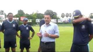 Ranjan Madugalle mentors Sri Lanka under 19 players