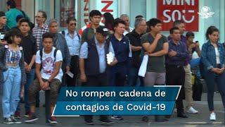 De acuerdo con el informe Estrategia Covid-19 que presentó la jefa de Gobierno, Claudia Sheinbaum Pardo, el pasado 14 de septiembre, al corte del miércoles,  la Ciudad de México  registró  6 mil 120  positivo; a diferencia del día anterior, se sumaron 229 casos