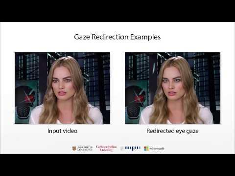 GazeDirector: Fully Articulated Eye Gaze Redirection in Video (EG'18)