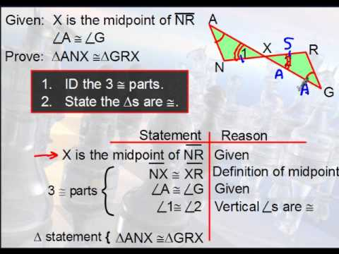 Geometry - Triangle Proofs - YouTube