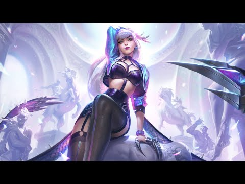 K/DA ALL OUT Evelynn Full Gameplay PBE