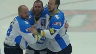 PSG Zlín - HC Škoda Plzeň (3:4) - rozhodující gól Martina Straky