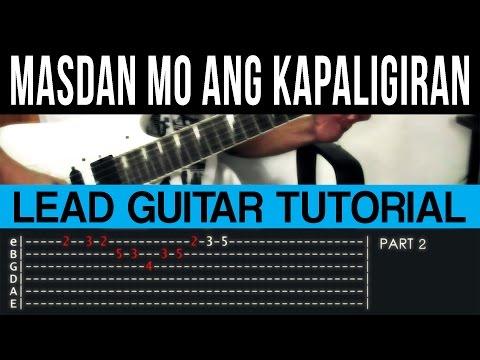 Masdan Mo Ang Kapaligiran - Asin Intro/Outro Lead Guitar Tutorial
