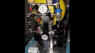 handmade air compressor in aluminum box part 2