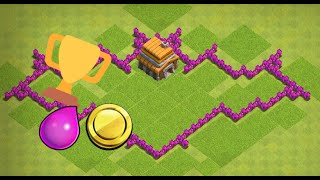 Clash of Clans Town Hall 5 Trophy/Farming base(Batman)-Speed build