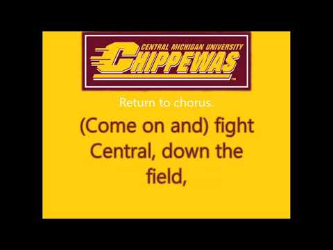Central Michigan's Chippewa Fight Song