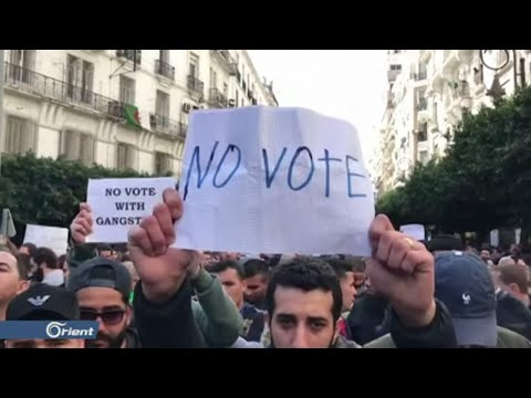 مظاهرات في مدن جزائرية رفضاً لإعادةِ إنتاج ِالنظام ِالسياسي السابق  - 21:59-2019 / 12 / 12