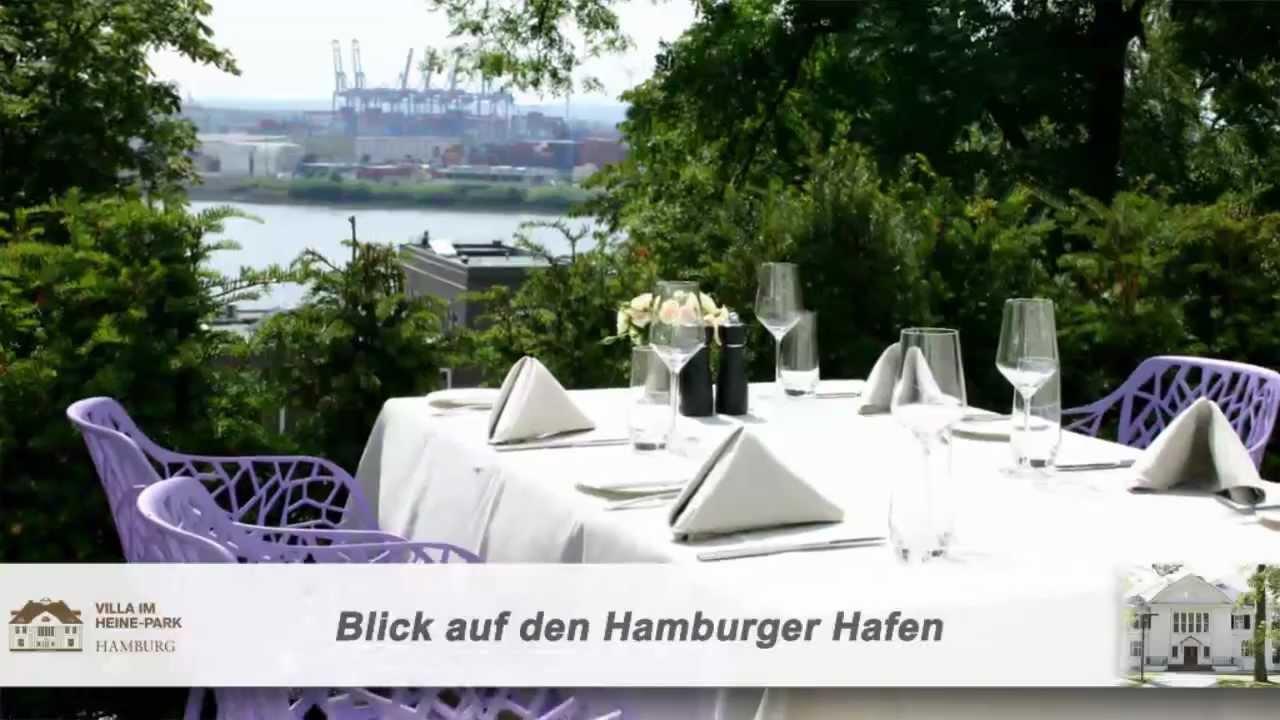 Heiraten In Hamburg Location Hochzeit An Der Elbe Villa Im Heinepark Hochzeit An Der Elbe Firmenclip
