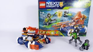 Lance's Hover Jouster One Set Mod - LEGO NEXO KNIGHTS 72001