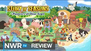 Full Harvest Moon or Falling Star? - Story of Seasons: Pioneers of Olive Town (Switch) Review (Video Game Video Review)