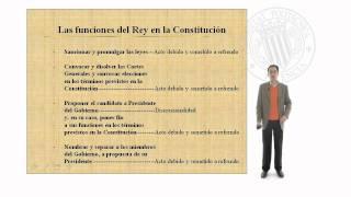 La monarquía parlamentaria en la Constitución Española de 1978     UPV