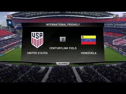 FIFA 19 USA VS VENEZUELA @ THE CENTURYLINK FIELD
