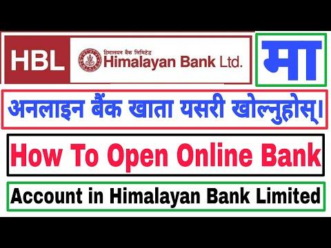 How To Open Online Bank Account in Himalayan Bank   हिमालयन बैंकमा अनलाइन बैंक खाता यसरी खोल्नुहोस्।