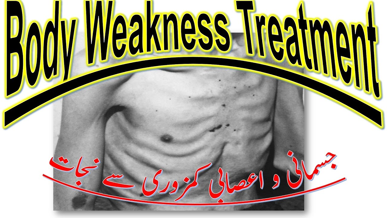 Weakness In Body and Nervous I Energy Booster To Overcome General